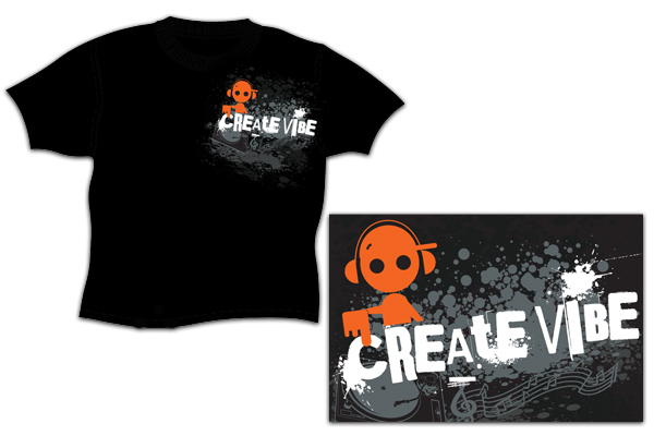 Create Vibe Clothing - Valencia Screen Printing Shirt Designs