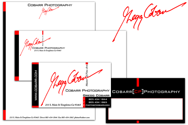 Cobarr Photography Identity Design