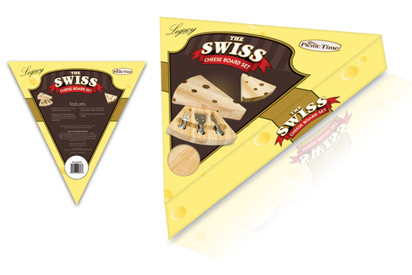 Picnic Time - Swiss Cheese Board designs